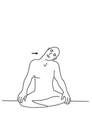 mouvements circulaires de la tête