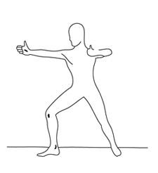 posture de l'archer