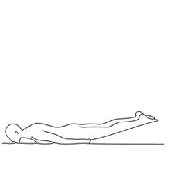 posture de la sauterelle