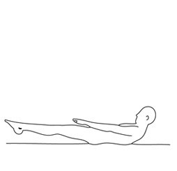 posture de tension (stretch pose)