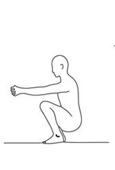 la posture du corbeau