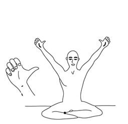 posture pour éradiquer l'égo